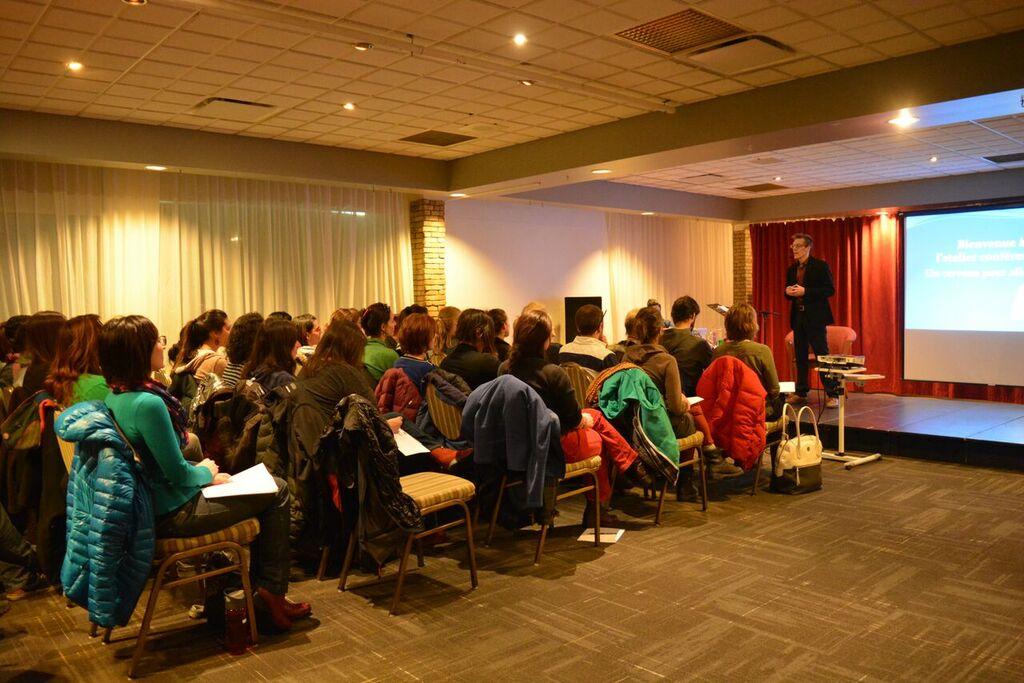 Conférence Gaspé Plan d'ensemble
